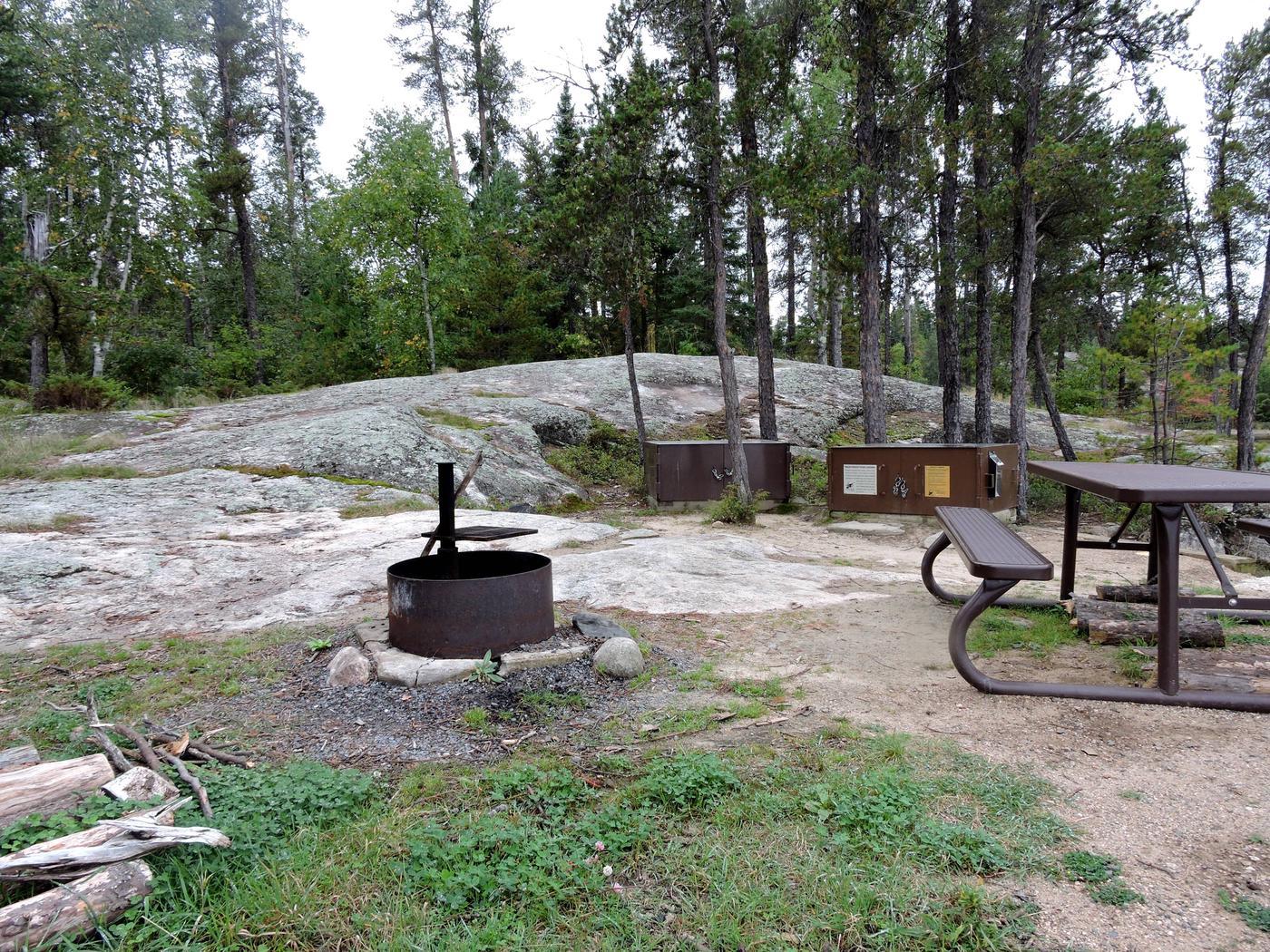 R90 - Anderson Bay WestView of campsite