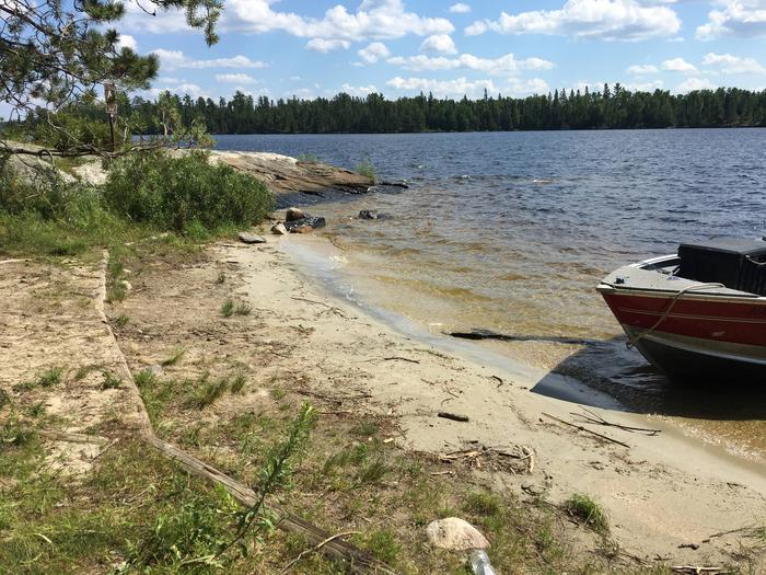R92 - Blueberry Island WestView looking out from boat access