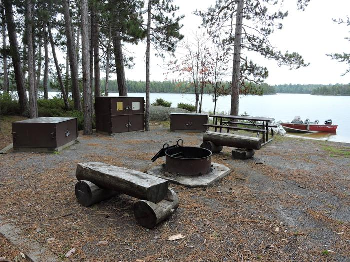 R92 - Blueberry Island WestView looking out from campsite