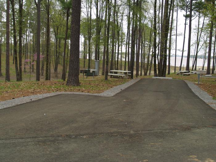 South Abutment Campground Site 60
