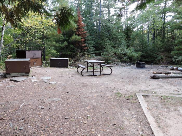 R93 - Lyle Mine IslandView of campsite