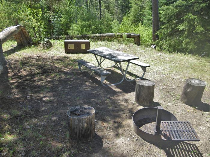 R95 - Cranberry CreekView of campsite