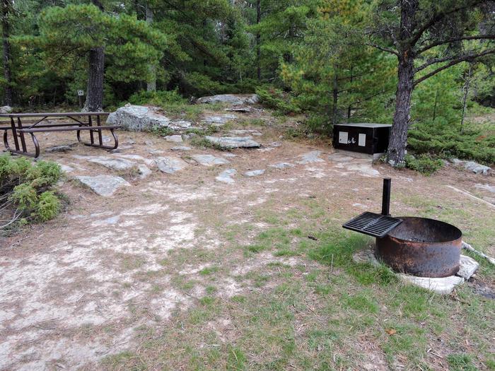 R102 - Nelson IslandView of campsite