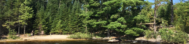 R103 - Pine Island ViewR103 - Pine Island View campsite on Rainy Lake
