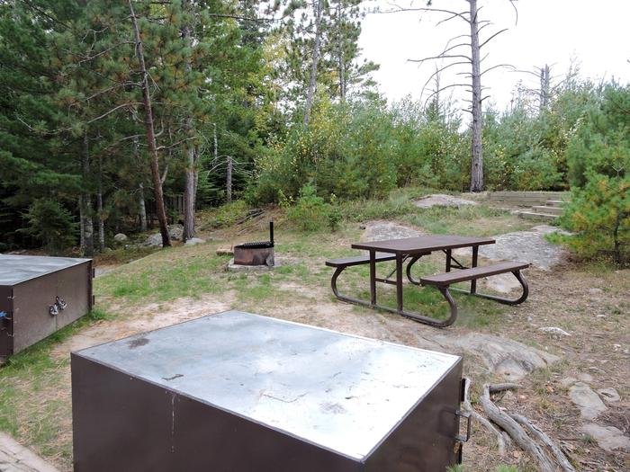 R103 - Pine Island ViewView of campsite