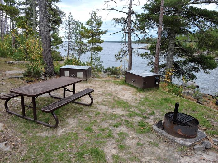 R103 - Pine Island ViewView looking out from campsite