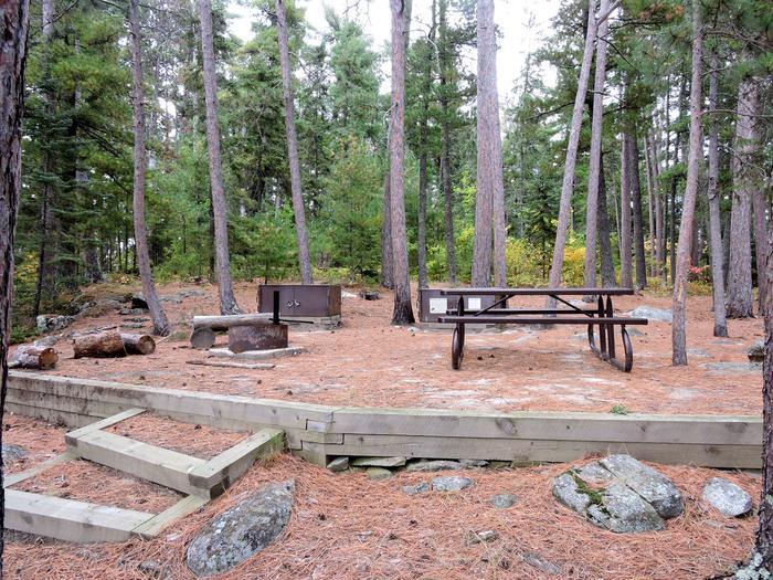 R105 - Hitchcock IslandView of campsite