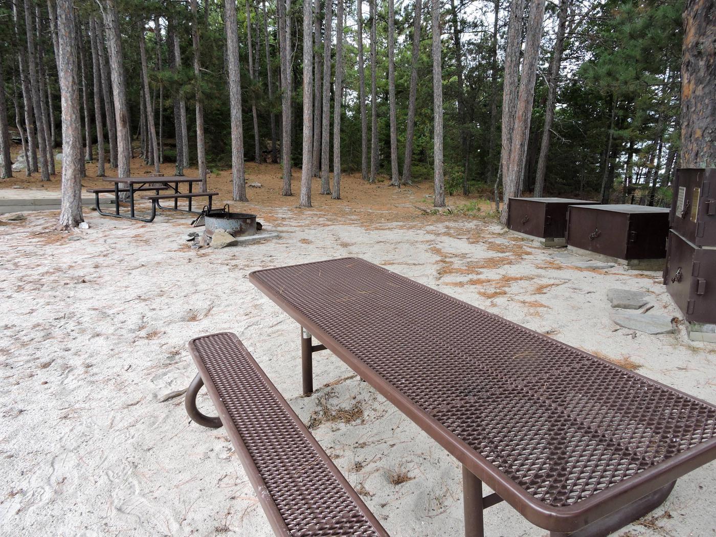 R106 - Shelland IslandView of campsite