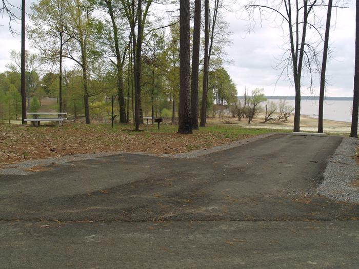 South Abutment Campground Site 75
