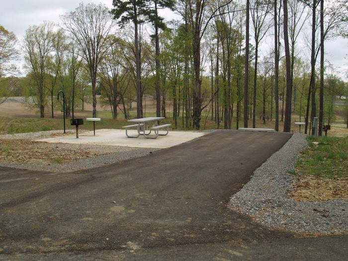 South Abutment Campground Site 78