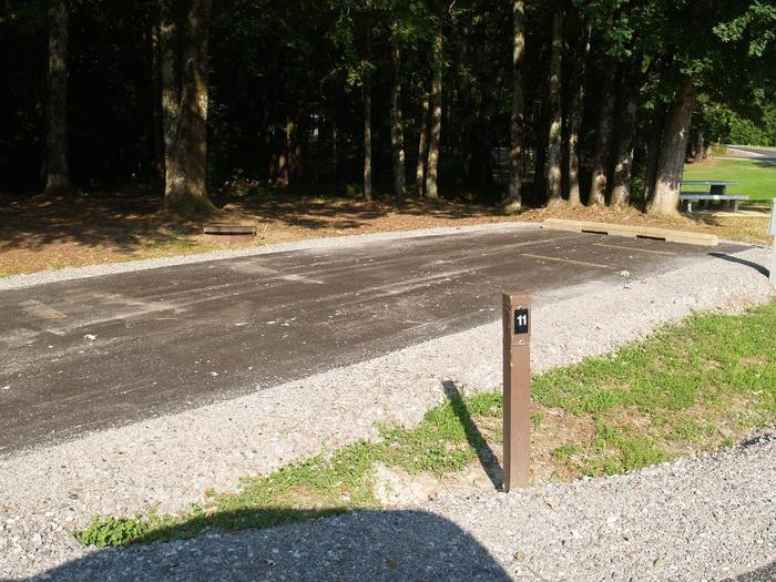 Hernando Point Campground Site 11