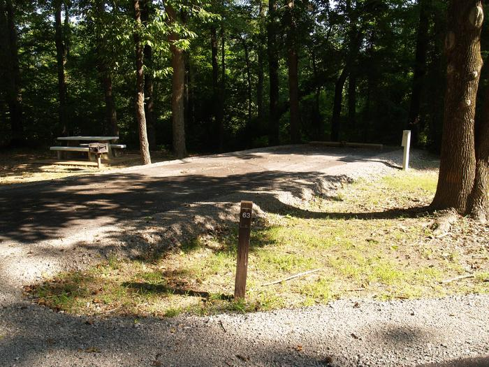 Hernando Point Campground Site 63