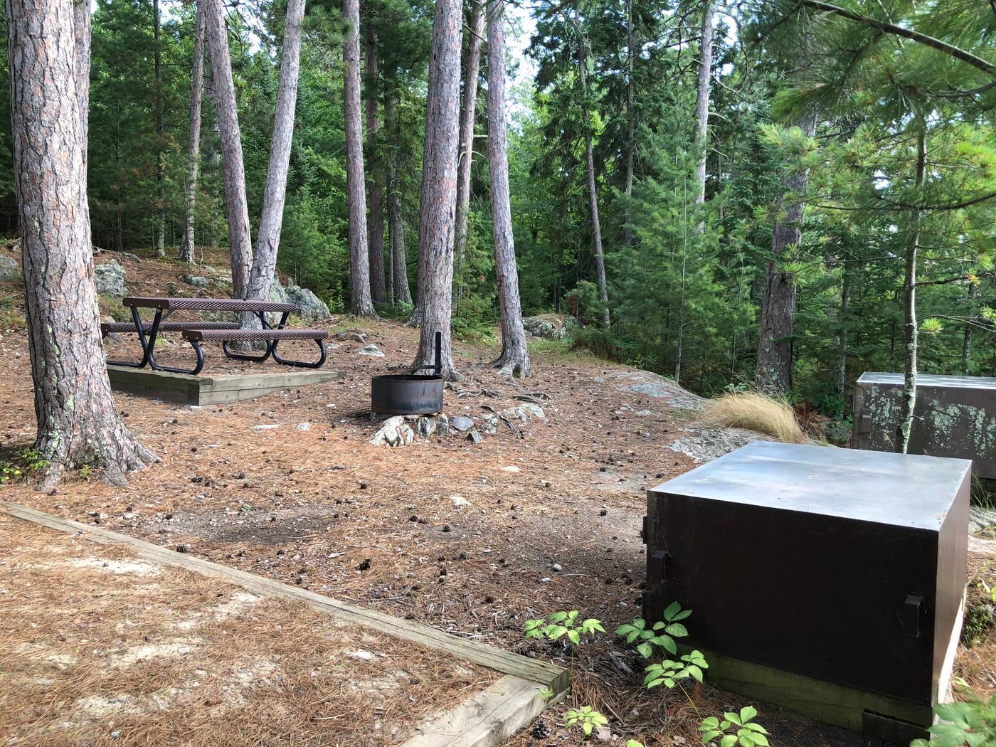 N62 - Sexton IslandView of campsite