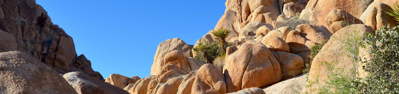 Rocks at Indian Cove, Joshua Tree National Park