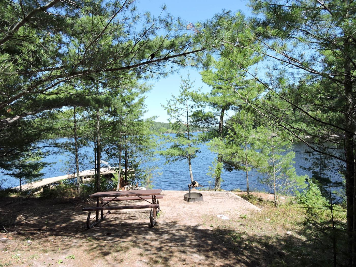 S27 - Jensen BayS27 - Jensen Bay campsite on Sandpoint Lake