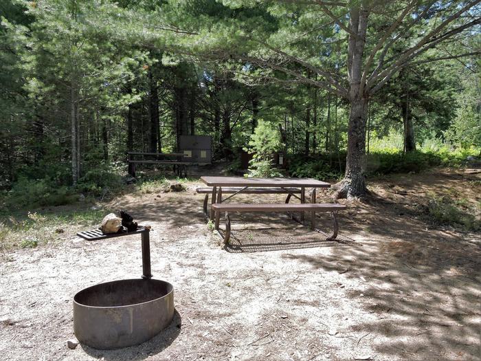 S27 - Jensen BayView of campsite