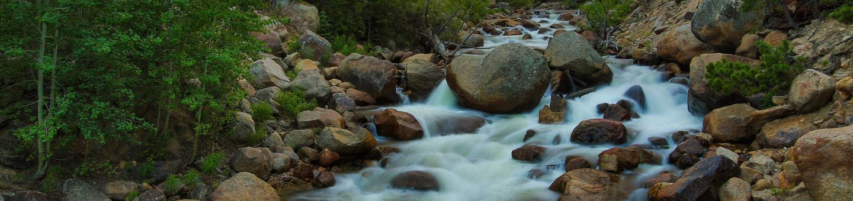 Fall River near Aspenglen Campground, Rocky Mountain National Park