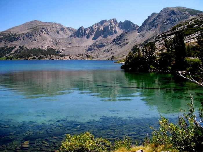 Duck Lake in John Muir Wilderness