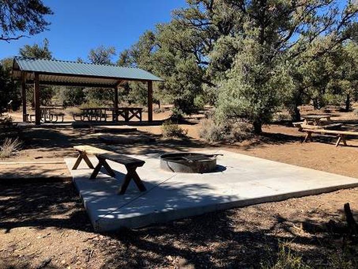 Cedar Flat Group CampCamp Furgeson