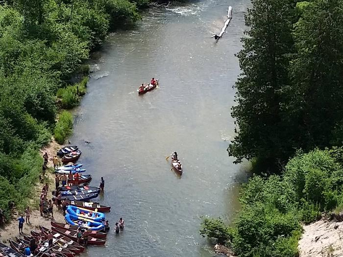 Preview photo of Pine National Scenic River Watercraft Permits (Huron Manistee)