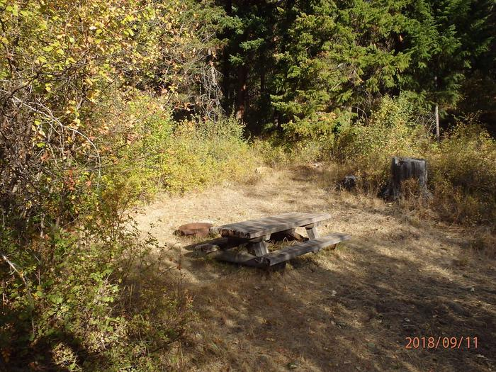Hause Creek CampgroundCampsite 6