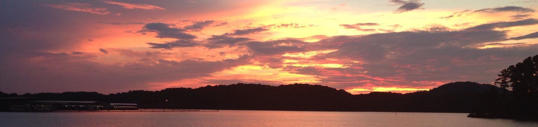 Sunset, McKinney Campground.Sunset, McKinney Campground