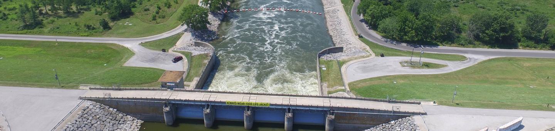 Dam West Spillway