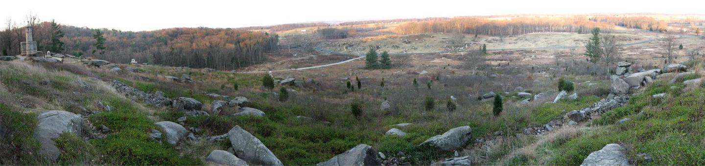 Little Round Top panorama