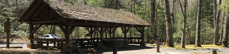 Horse Creek Pavilion and surroundingsHorse Creek Pavilion