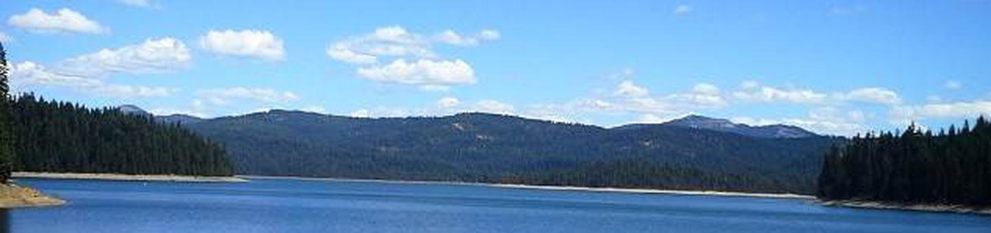 Little Grass Valley Reservoir as viewed from the damLittle Grass Valley Reservoir