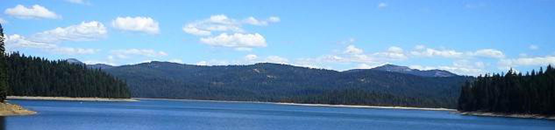 Little Grass Valley Reservoir as viewed from the damLittle Grass Valley Reservoir
