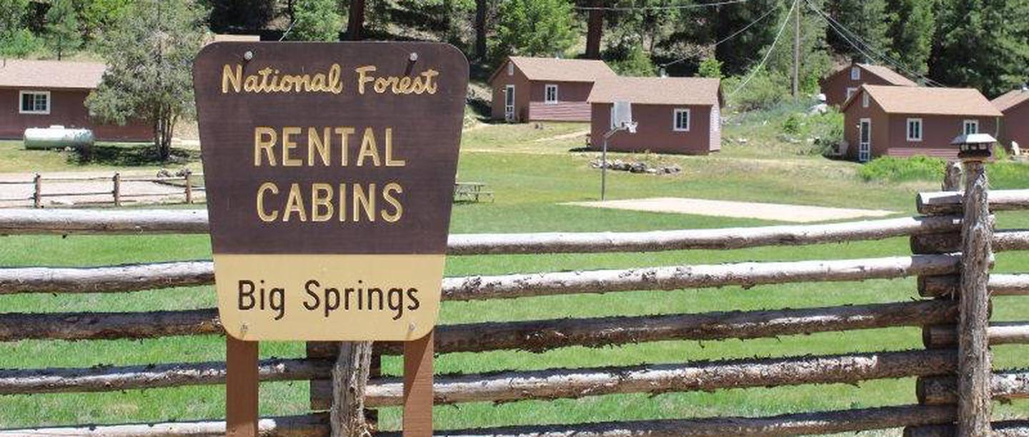 Welcome to Big SpringsBig Springs Cabins