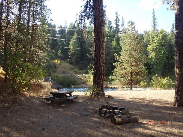 Hause Creek CampgroundCampsite 13