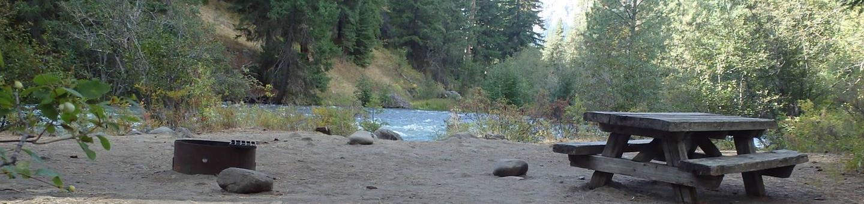 Hause Creek CampgroundSite 20 nice views