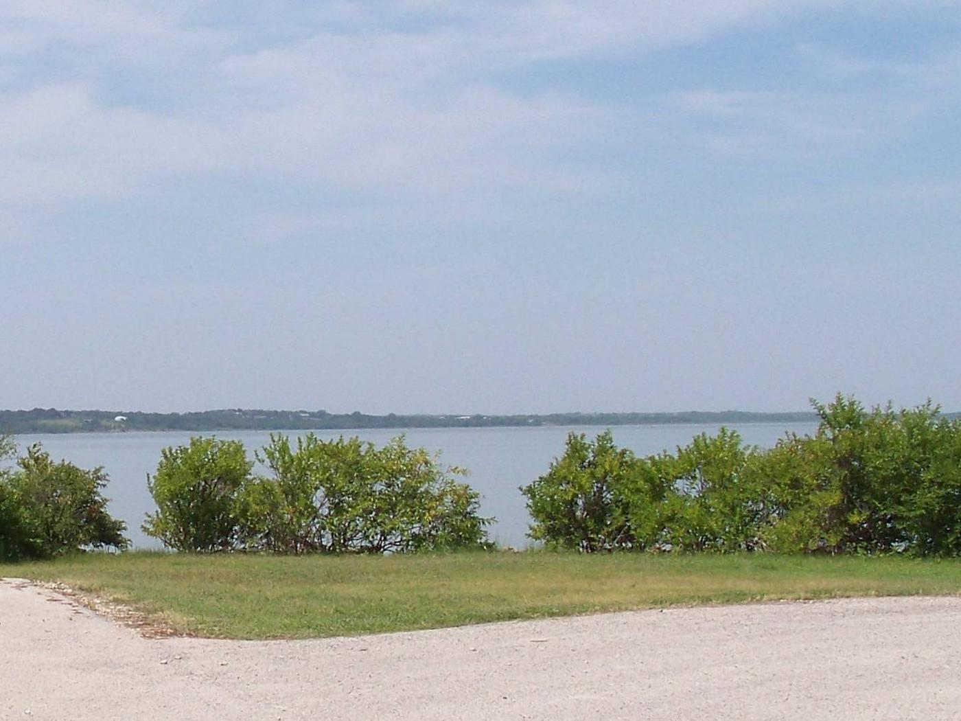 View of lake at Pecan Point
