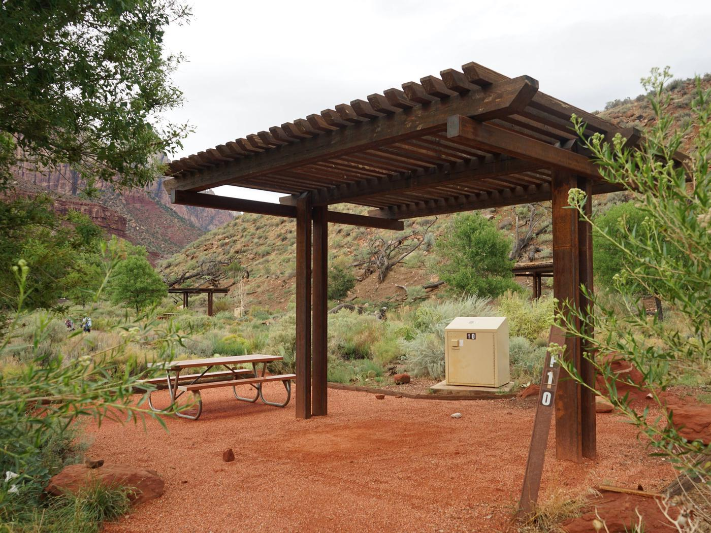 Campsite areaF10