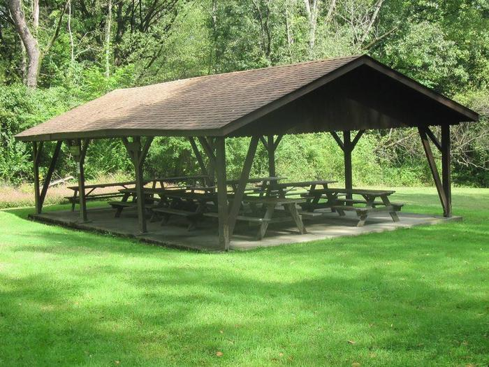 Preview photo of Shenango Lake Mahaney Spruce Cove Trails End Rolling Meadows Skyline Picnic Shelters