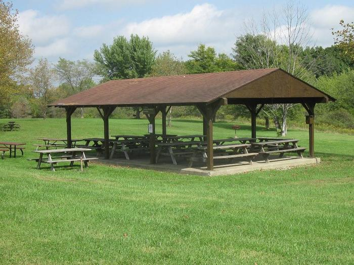 Shenango Lake Mahaney Spruce Cove Trails End Rolling Meadows Skyline Picnic SheltersRolling Meadows Picnic Shelter