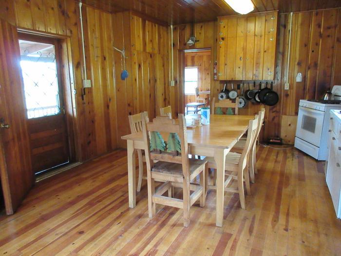 Kitchen at Caldwell CabinCaldwell Cabin