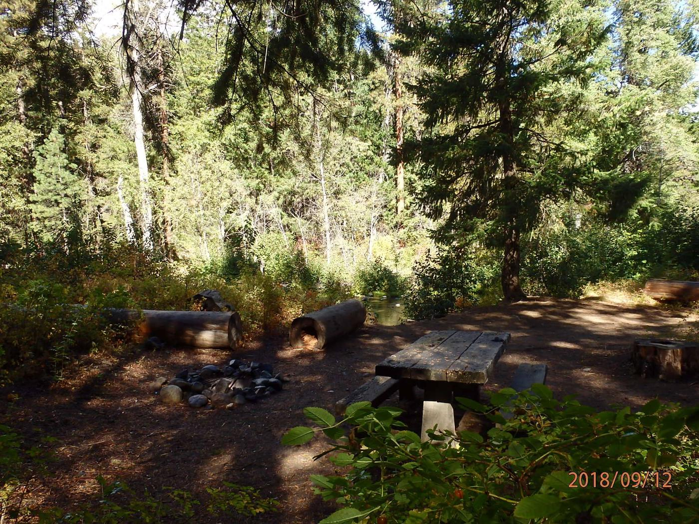 Sawmill FlatCampsite has room for one tent