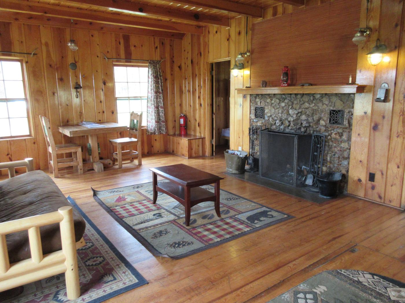 Living room at Caldwell CabinCaldwell Cabin