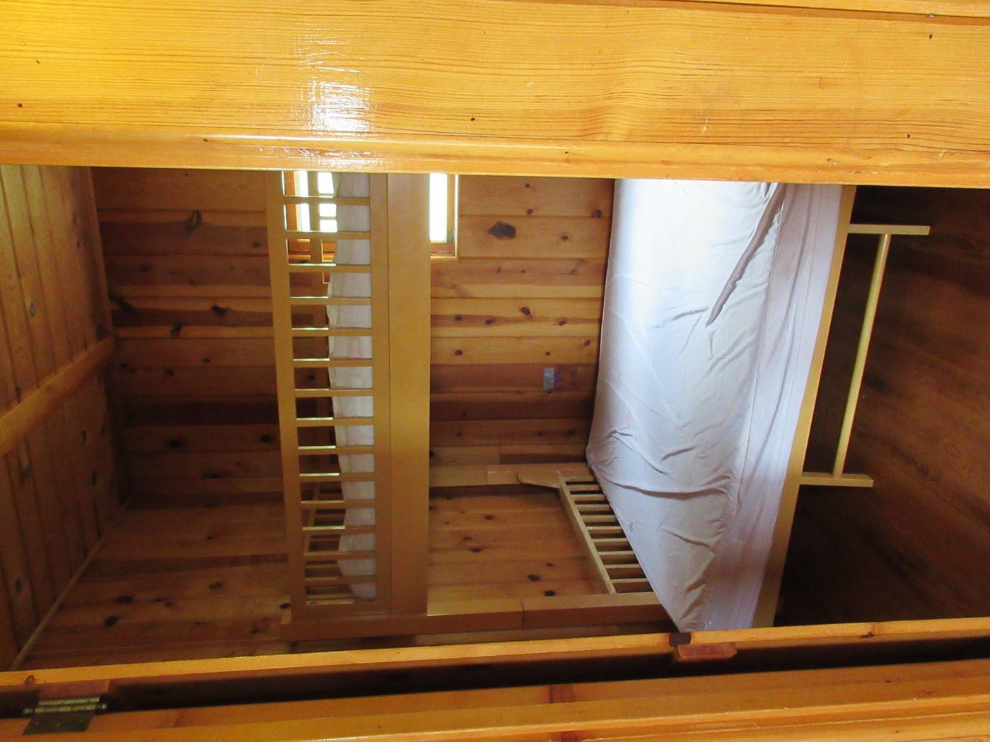 Bedroom at Caldwell CabinCaldwell Cabin