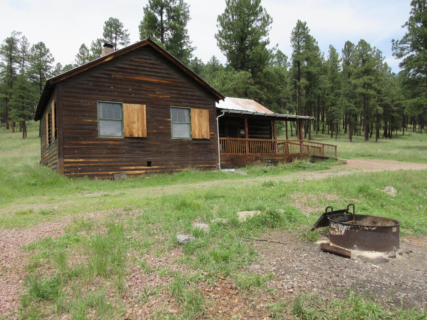 Caldwell Cabin, Alpine Ranger District, ArizonaCaldwell Cabin