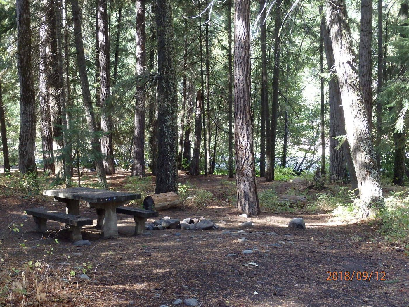 Sawmill FlatNice site near the Naches River