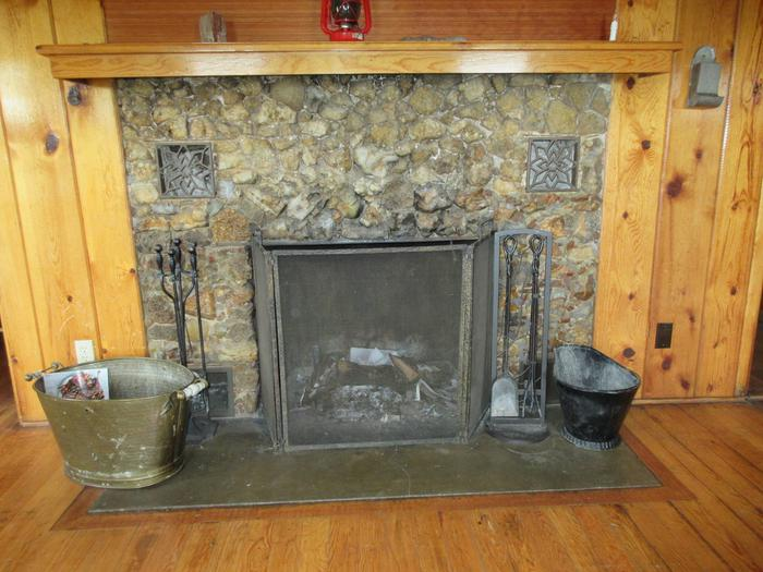 Fireplace at Caldwell CabinCaldwell Cabin