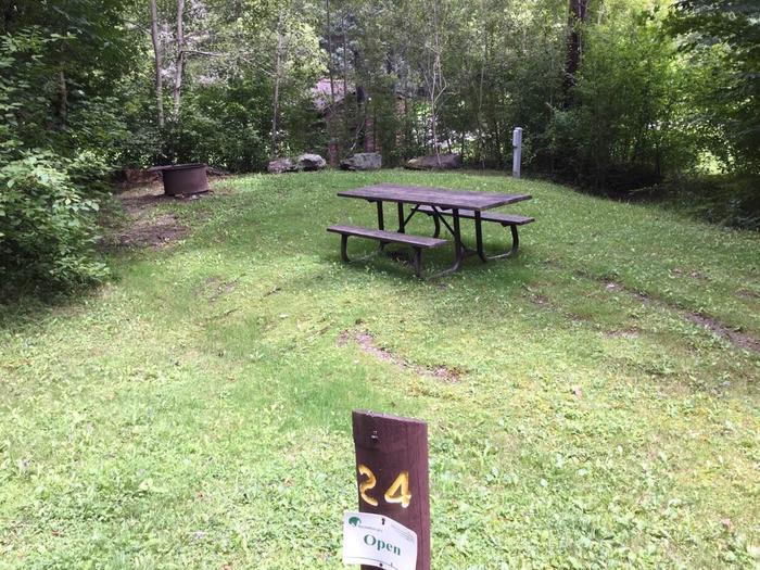 Loleta Recreation Area: Campsite 24