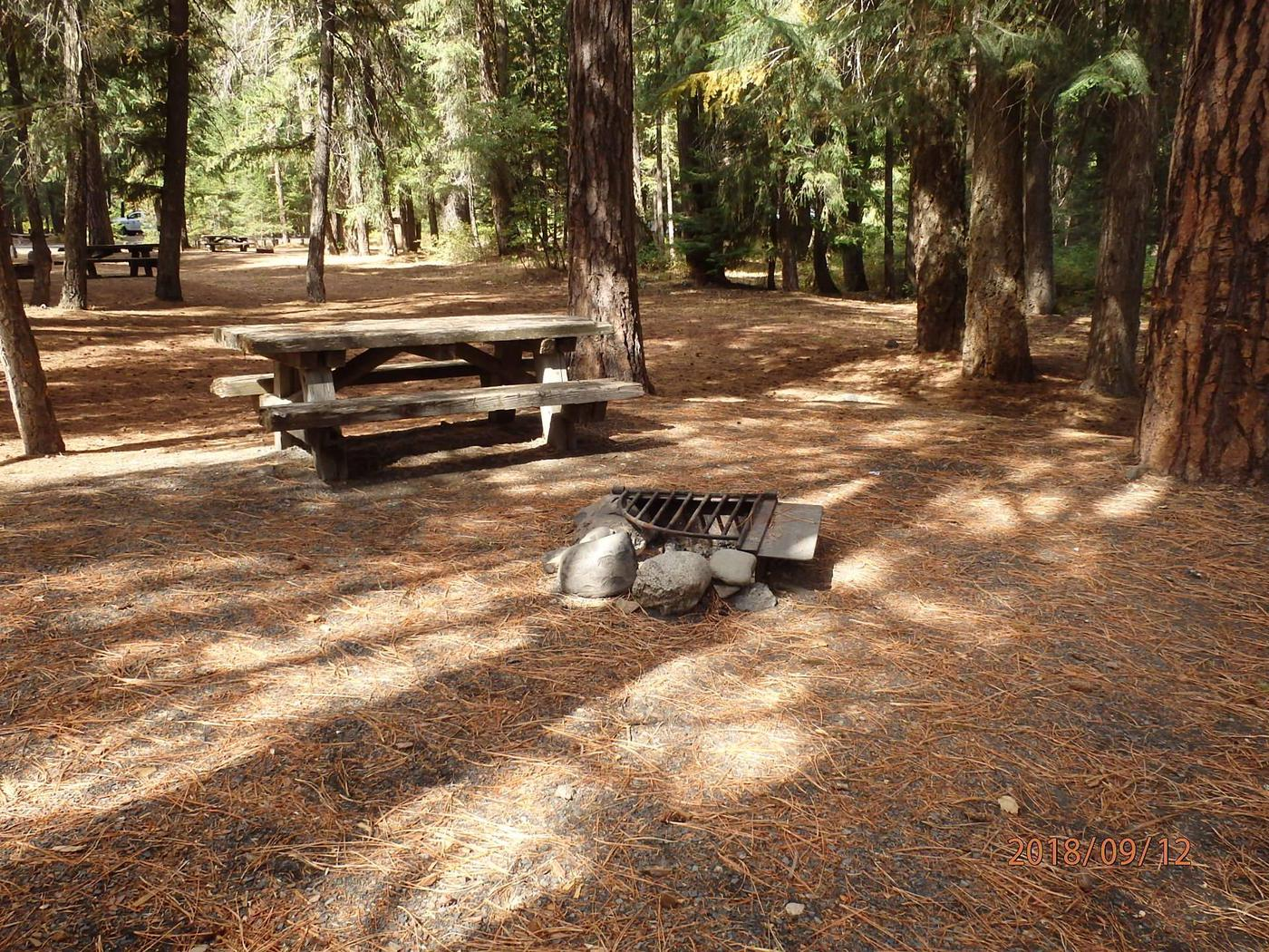 Little NachesSite offer space for two tents or an RV