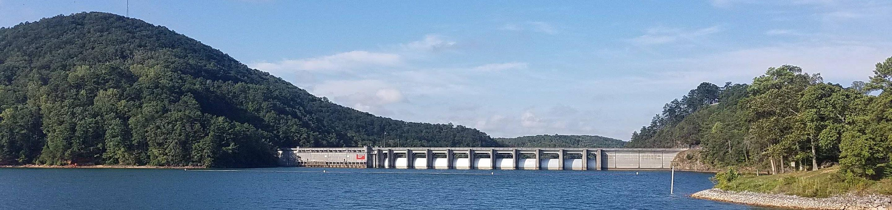 Allatoona Dam and LakeAllatoona Dam as seen from Bartow Gatewood Park