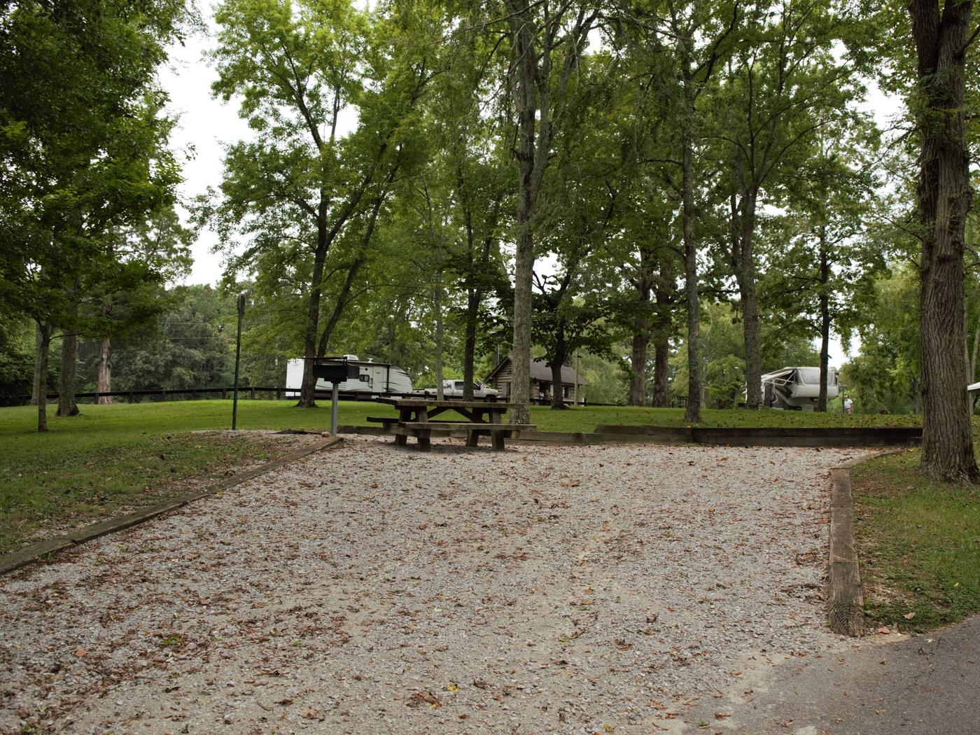 WILLOW GROVE CAMPGROUND SITE # 6