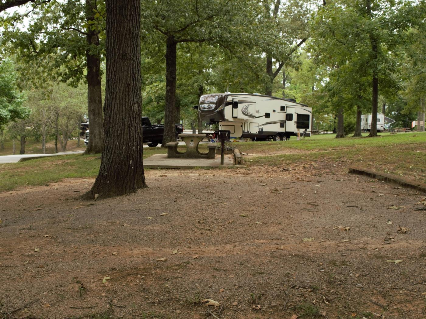 WILLOW GROVE CAMPGROUND SITE #56